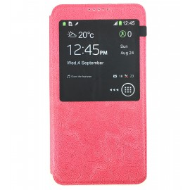 Etui Flip cover Rose Samsung Galaxy Note 3