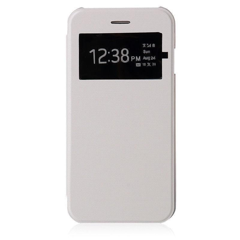 flip cover cache batterie blanc galaxy s5 mini tout pour. Black Bedroom Furniture Sets. Home Design Ideas