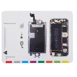 Patron vis magnétique iPhone 6S