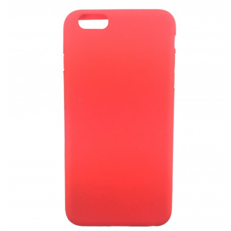coque iphone 6 silicone rouge