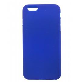 Coque silicone iPhone 6 Plus Bleu foncé