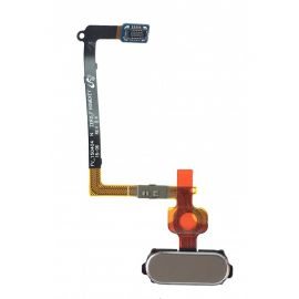 Nappe bouton home Samsung Galaxy S6 Edge G925F Or