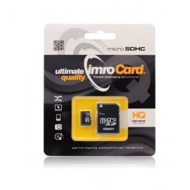 Carte mémoire Micro SD 2Go + adaptateur