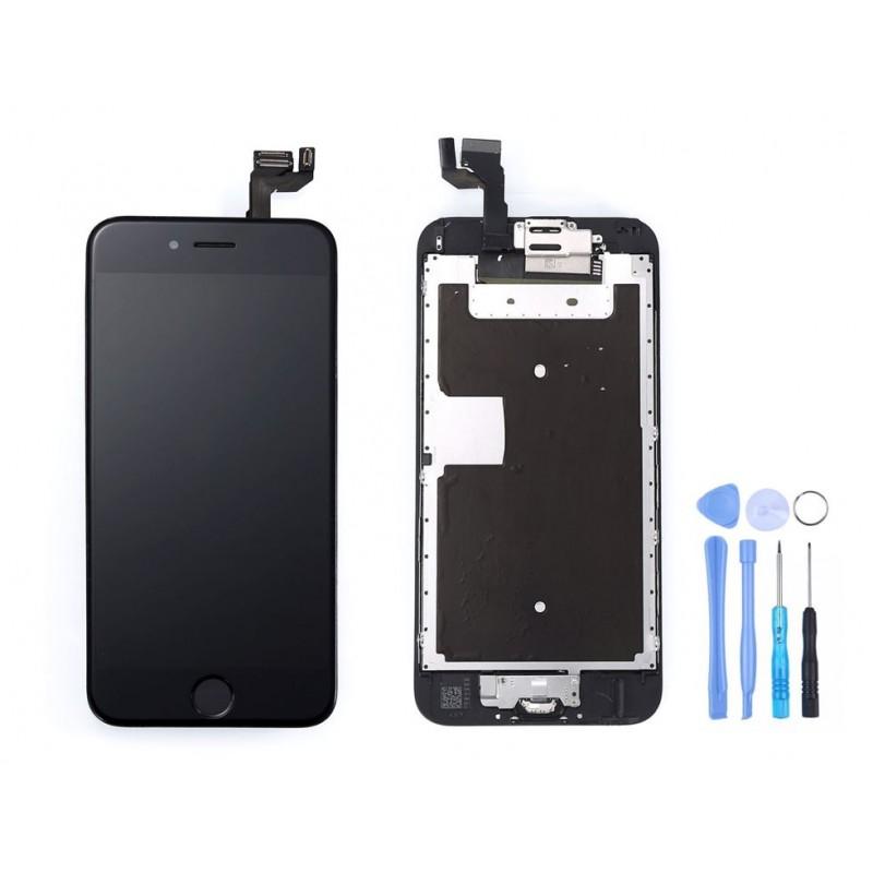 ecran complet iphone 6s noir outils pas cher tout pour. Black Bedroom Furniture Sets. Home Design Ideas