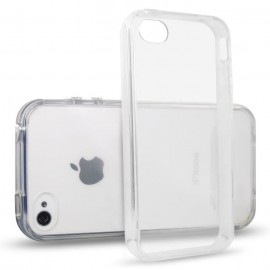 Coque silicone translucide iPhone 4/4S