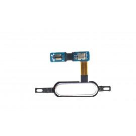 Nappe bouton home Samsung Galaxy Tab S 10.5'' blanc