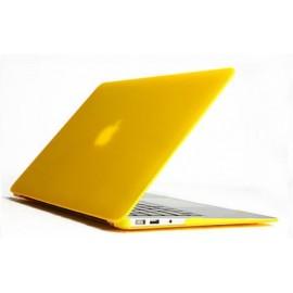Coque Velours Jaune Macbook Pro Retina 13