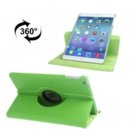 Etui cuir 360° iPad Air 2 Vert