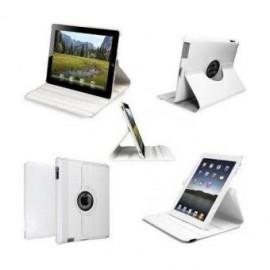Etui cuir 360° iPad Mini 4 Blanc