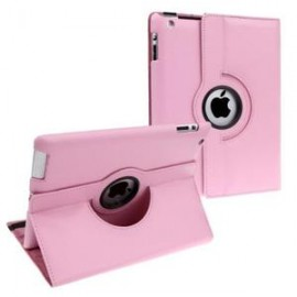 Etui cuir 360° iPad Mini 4 Rose