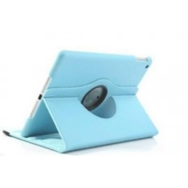 Etui cuir 360° iPad Mini 4 Bleu ciel