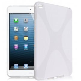 Coque silicone S-line iPad mini 4 Blanc