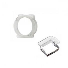 Support plastique caméra avant et capteur de proximité iPhone 5S