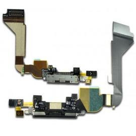 Connecteur de charge noir iPhone 4S