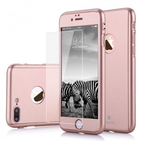 coque iphone 7 rose pale