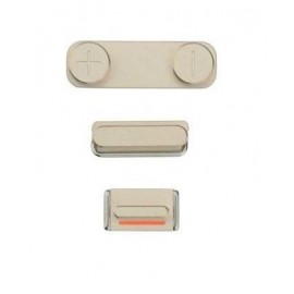 Pack boutons volume vibreur power iPhone 5S OR