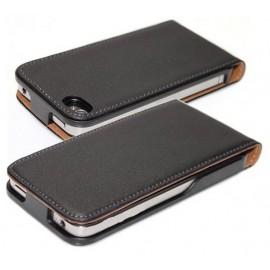 Etui cuir noir iPod 4G