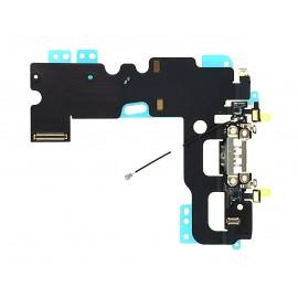 Connecteur de charge + Micro + Antenne GSM iPhone 7 blanc