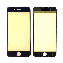 Vitre tactile avec châssis et film OCA iPhone 6 Noir