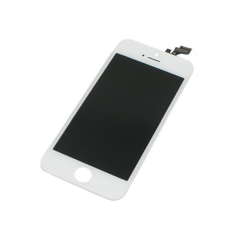kit complet r paration cran iphone 5s blanc. Black Bedroom Furniture Sets. Home Design Ideas