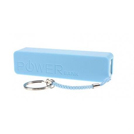 Batterie externe portative coloré 2600mAh avec packaging