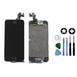 Ecran complet noir de remplacement iPhone 5S + Outils