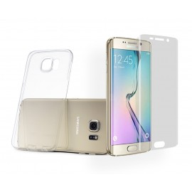 "Pack ""Cristal protect"" Galaxy S6 EDGE Plus"