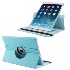 Etui cuir 360° iPad Air 2 Bleu ciel
