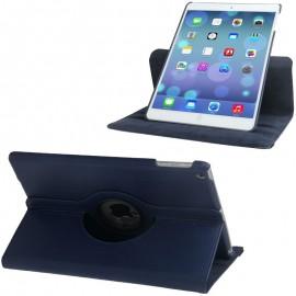 Etui cuir 360° iPad Air 2 Bleu foncé