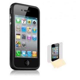 Housse étui bumper noir iPhone 4/4S