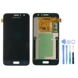 Ecran Samsung Galaxy J1 2016 Noir (J120F) + Outils