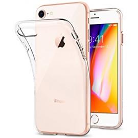 Coque en silicone transparent iPhone 8