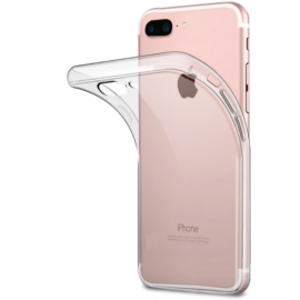Coque silicone transparent iPhone 8 Plus