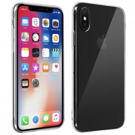 Coque rigide cristal iPhone X