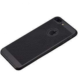 Coque grille noir iPhone 7 Plus / iPhone 8 Plus