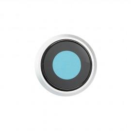 Lentille caméra arrière iPhone 8 Argent + châssis