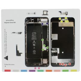 Patron vis magnétique iPhone 8 Plus