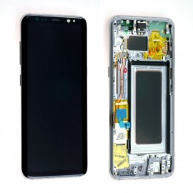 Ecran complet Samsung Galaxy S8 Argent