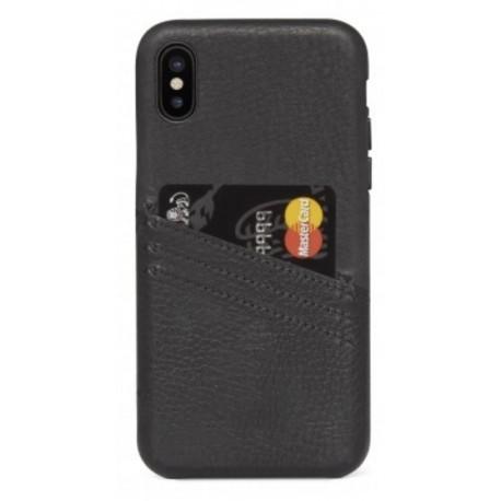 coque porte carte noir iphone x