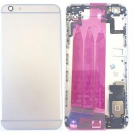 Coque arrière complète iPhone 6S Plus Argent