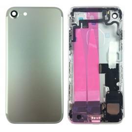 Coque arrière complète iPhone 7 Argent