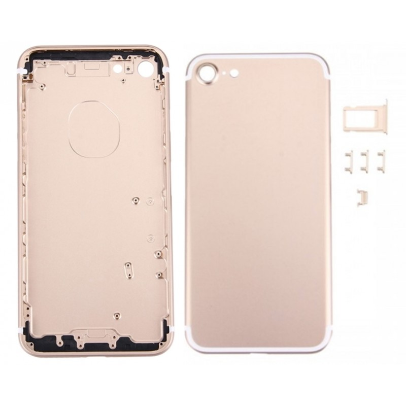 coque arriere de remplacement iphone 7 or