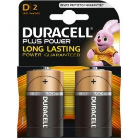 Lot de 2 piles D Duracell
