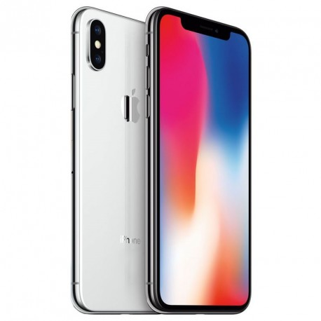 iPhone X Argent 64GB reconditionné Grade A