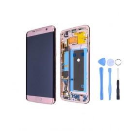 Ecran complet Samsung Galaxy S7 Edge Rose