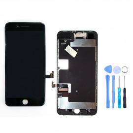 Ecran complet iPhone 8 Plus Noir + Outils