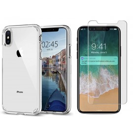 Pack cristal protect iPhone Xs