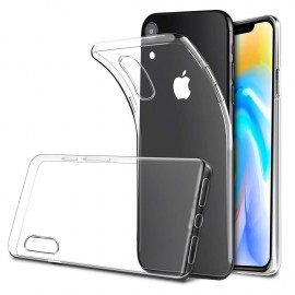coque iphone xr transparente message