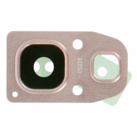 Lentille caméra arrière Samsung Galaxy A3 / A5 / A7 2017 Rose