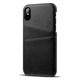 Coque porte carte noir iPhone Xs Max